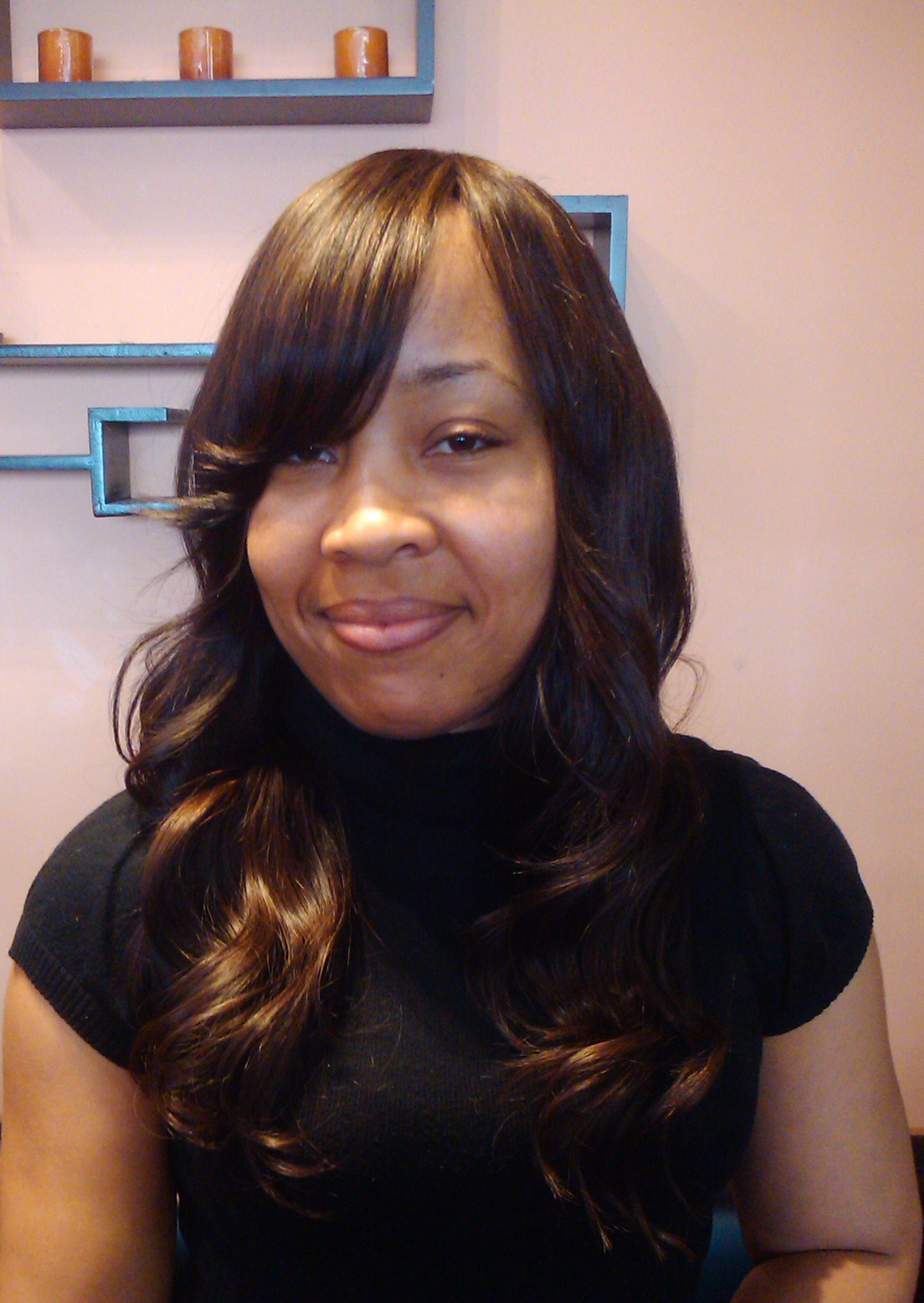 Indian Remy Body Wave Weave Hairstyles