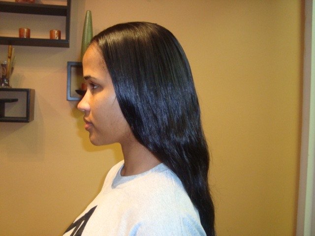Sew in Styles Straight Hair